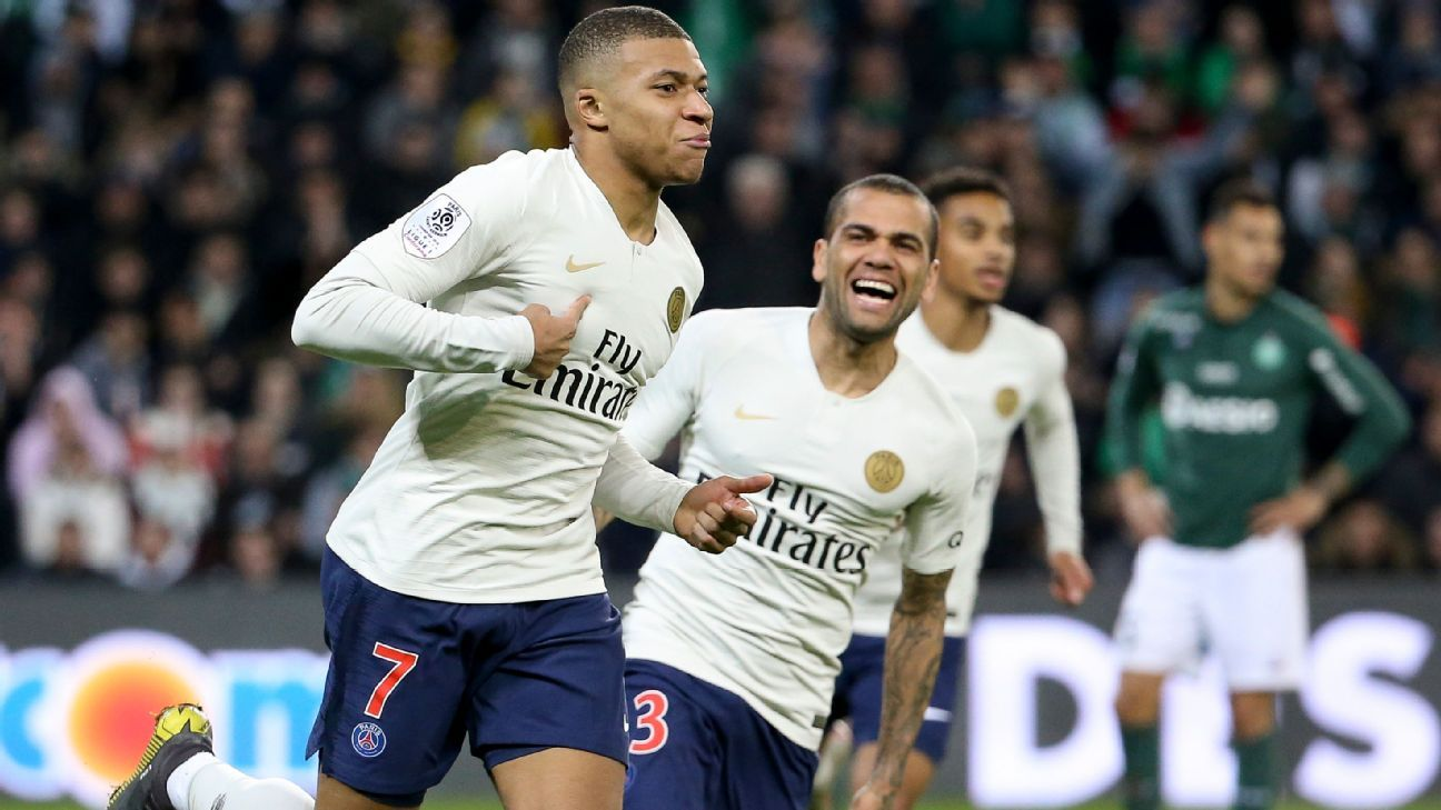 PSG's Kylian Mbappe on superb strike: Dani Alves teed me up well