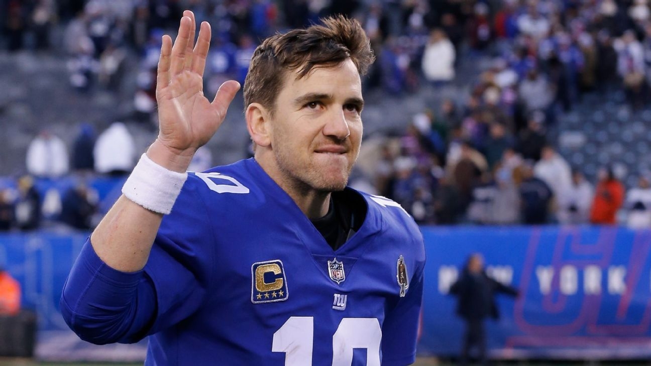 ¿Qué le depara el futuro a Eli Manning y los New York Giants?