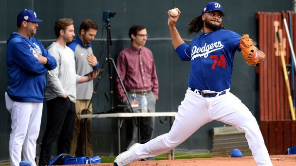 Dodgers' Kenley Jansen hoping higher spin rate will help him sizzle