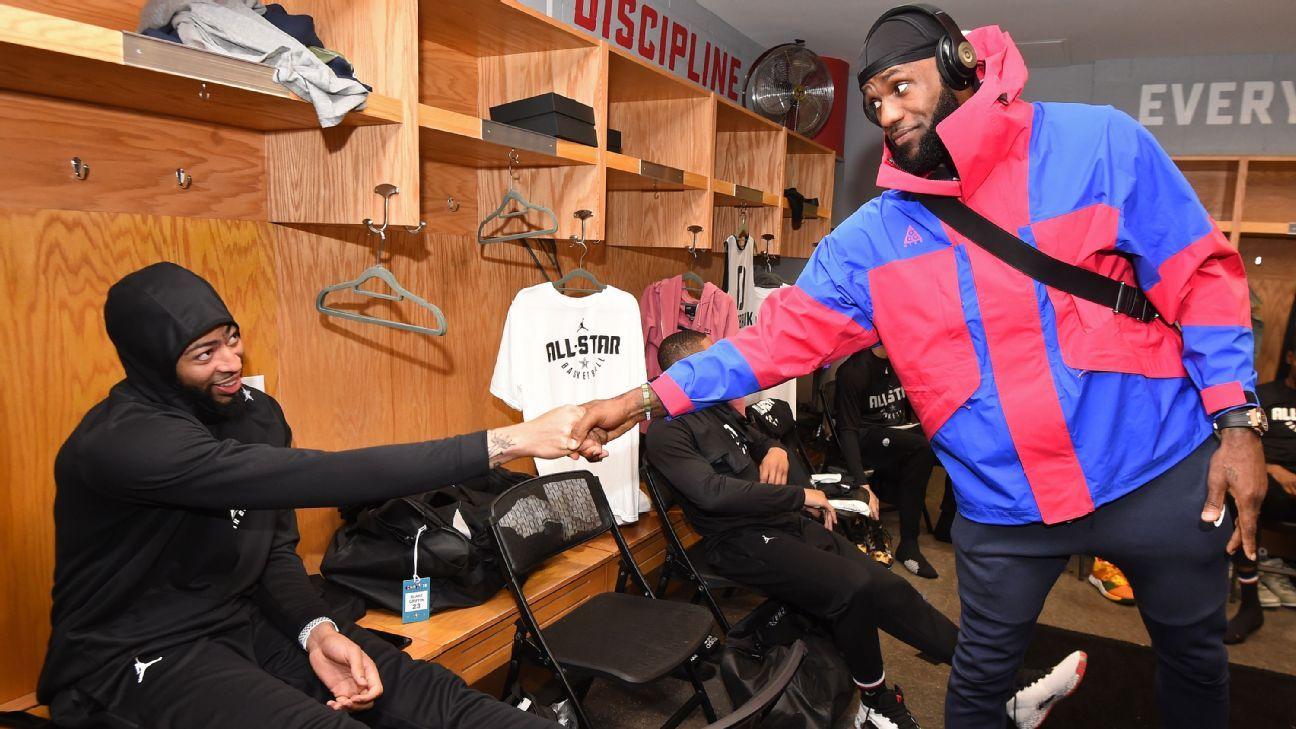 Anthony Davis aparecerá en programa de televisión de LeBron James