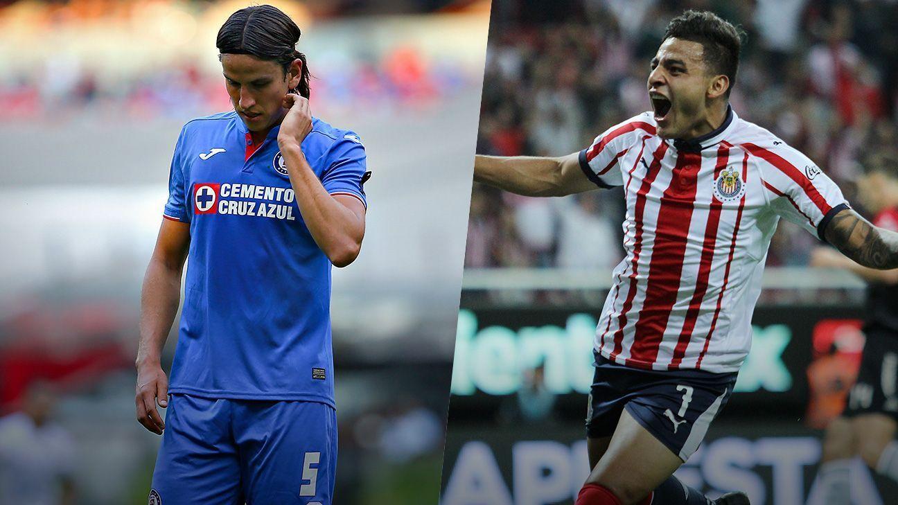 Chivas y Cruz Azul intercambiaron roles en el Clausura 2019