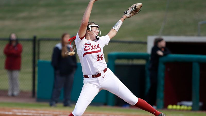 Alabama's Montana Fouts Named 2021 Pitcher of the Year