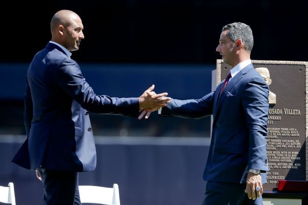 Jorge Posada: Joining Derek Jeter with Marlins is 'Perfect timing'
