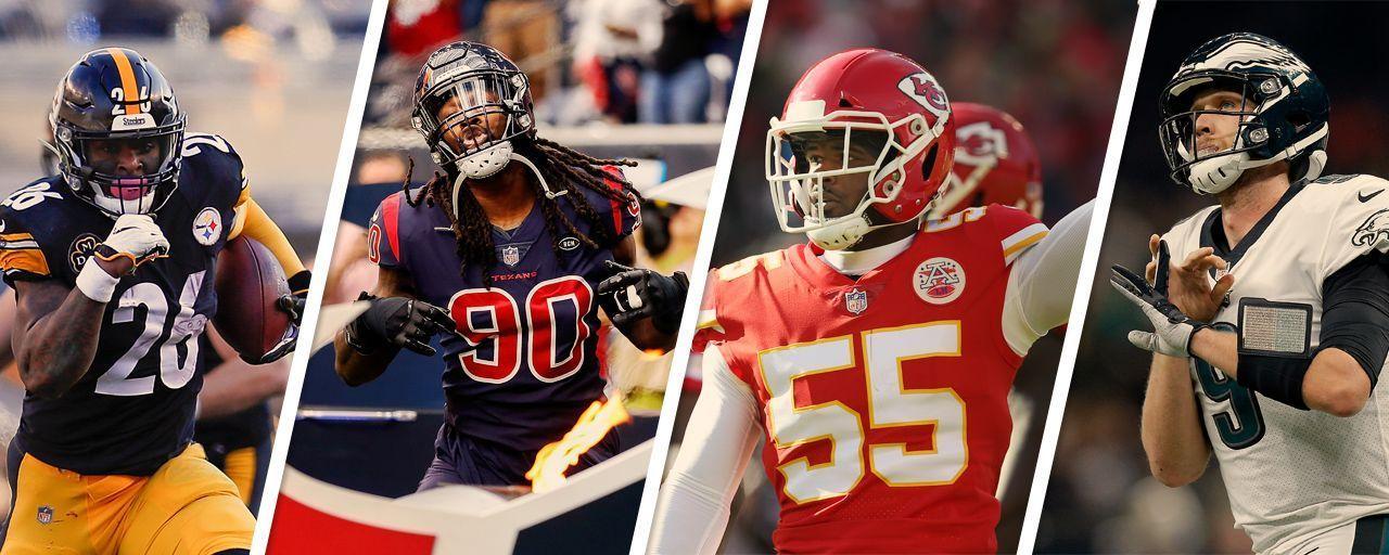 NFL: Le'Veon Bell e Foles 'travados'? Entenda a franchise tag e veja quem deve recebê-la