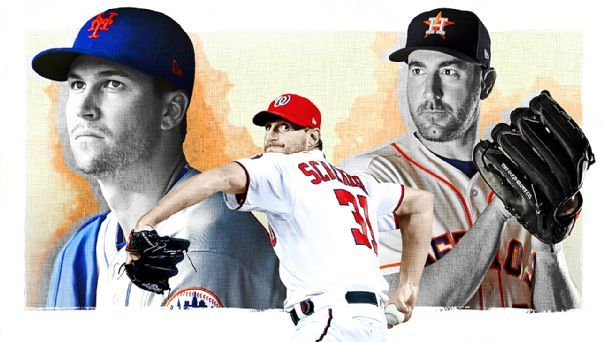 MLB starting pitcher tiers: New wave of aces rises above game's changes