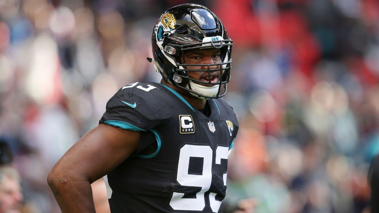 Jacksonville Jaguars validan opción contractual para Calais Campbell
