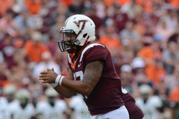 Former Virginia Tech QB Josh Jackson transferring to Maryland