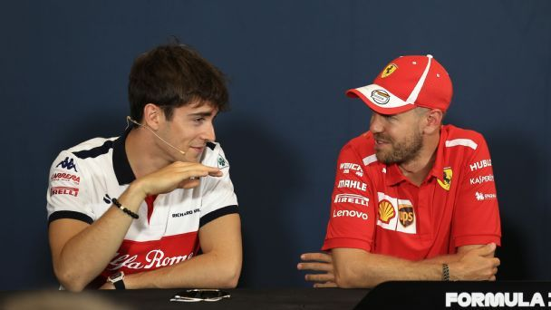 Vettel: New Ferrari teammate Leclerc is a genuine title rival in 2019