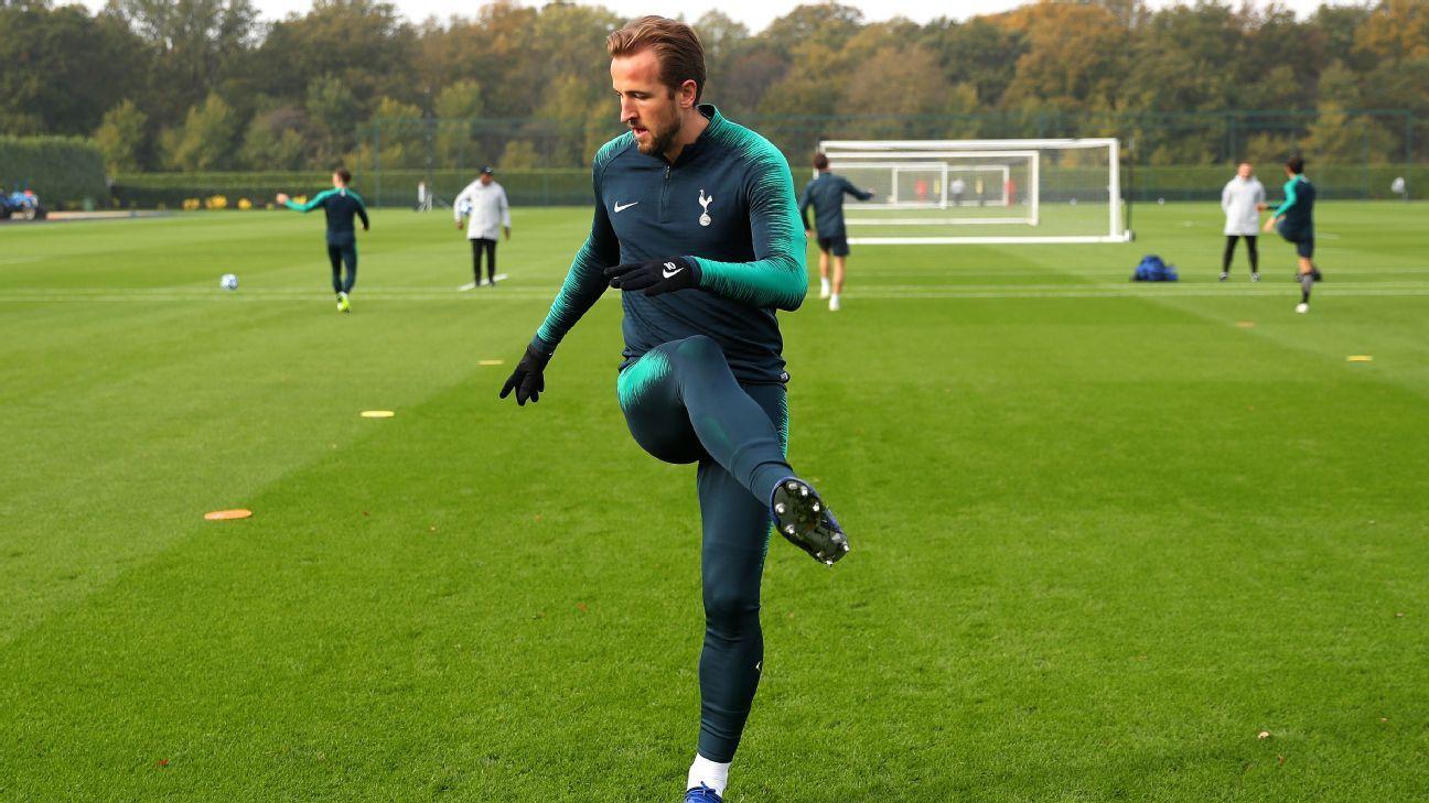 Harry Kane volvió a entrenarse con Tottenham