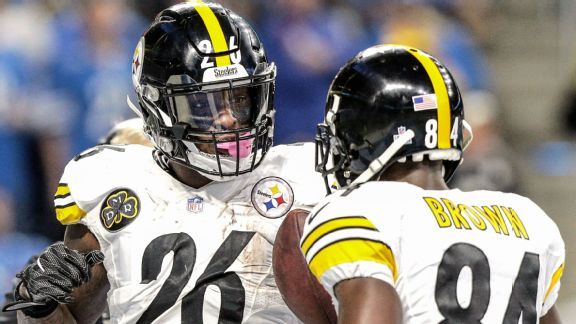 Steelers' sensible scenarios for replacing Antonio Brown and Le'Veon Bell