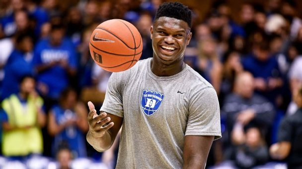 Zion is the best college draft prospect since ...