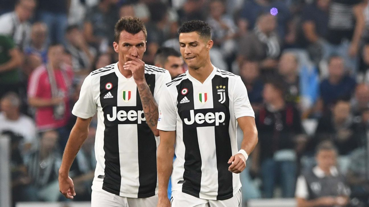 Juventus' twin towers of Ronaldo, Mandzukic to provide a unique test for Atletico's stingy defence
