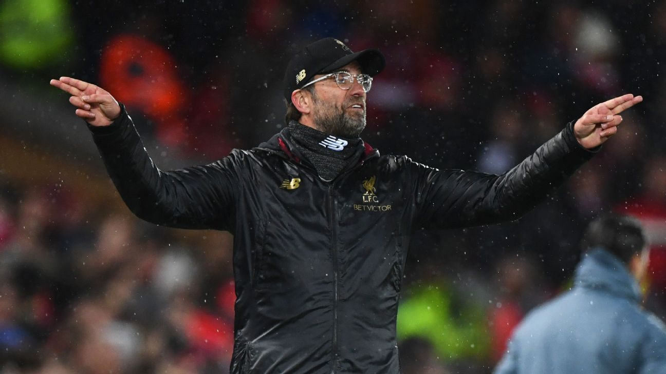 Liverpool's Klopp fined £45,000 for referee comments in West Ham draw