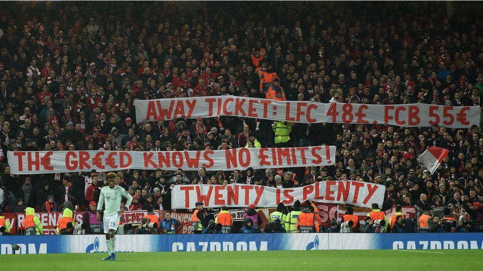 Torcedores do Bayern protestam por ingresso de R$ 233 na Champions: 'A ganância não conhece limites'
