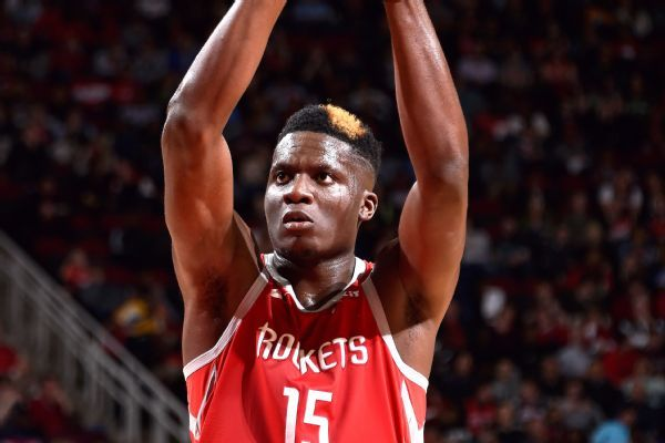 Rockets' Clint Capela expected to return Thu. after missing 15 games