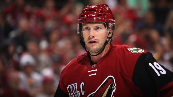 Career Coyote Shane Doan, in the words of his teammates