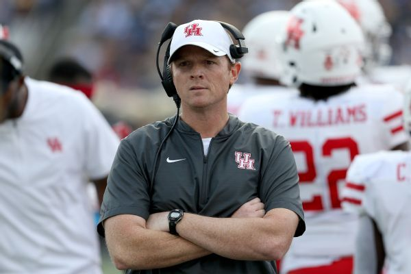 Report: Ex-Houston coach Major Applewhite to be analyst for Alabama