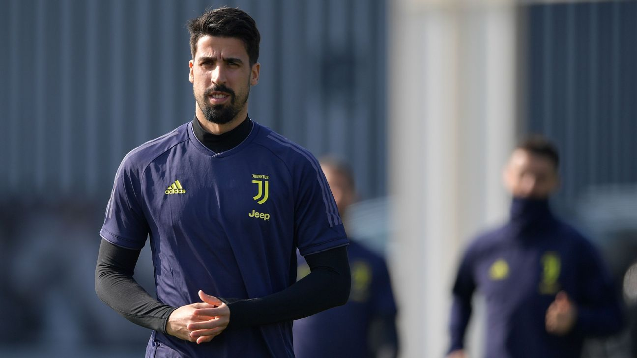 Juventus' Khedira out for a month after treatment for irregular heartbeat