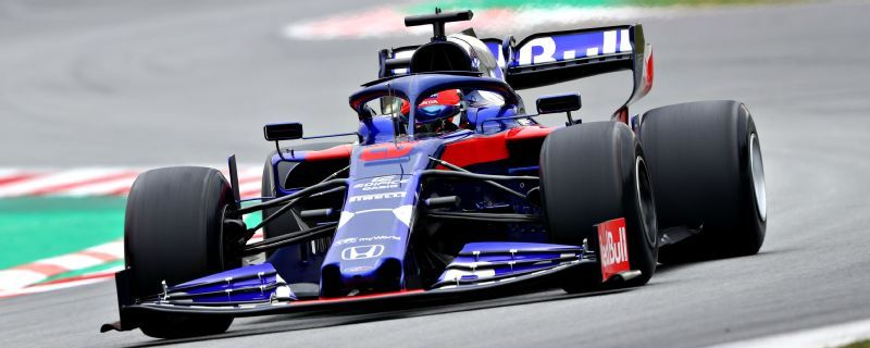 Daniil Kvyat sets fastest time of F1 winter testing for Toro Rosso