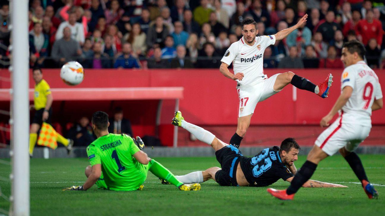 Sevilla venció a Lazio y clasificó a 8vos. de Europa League