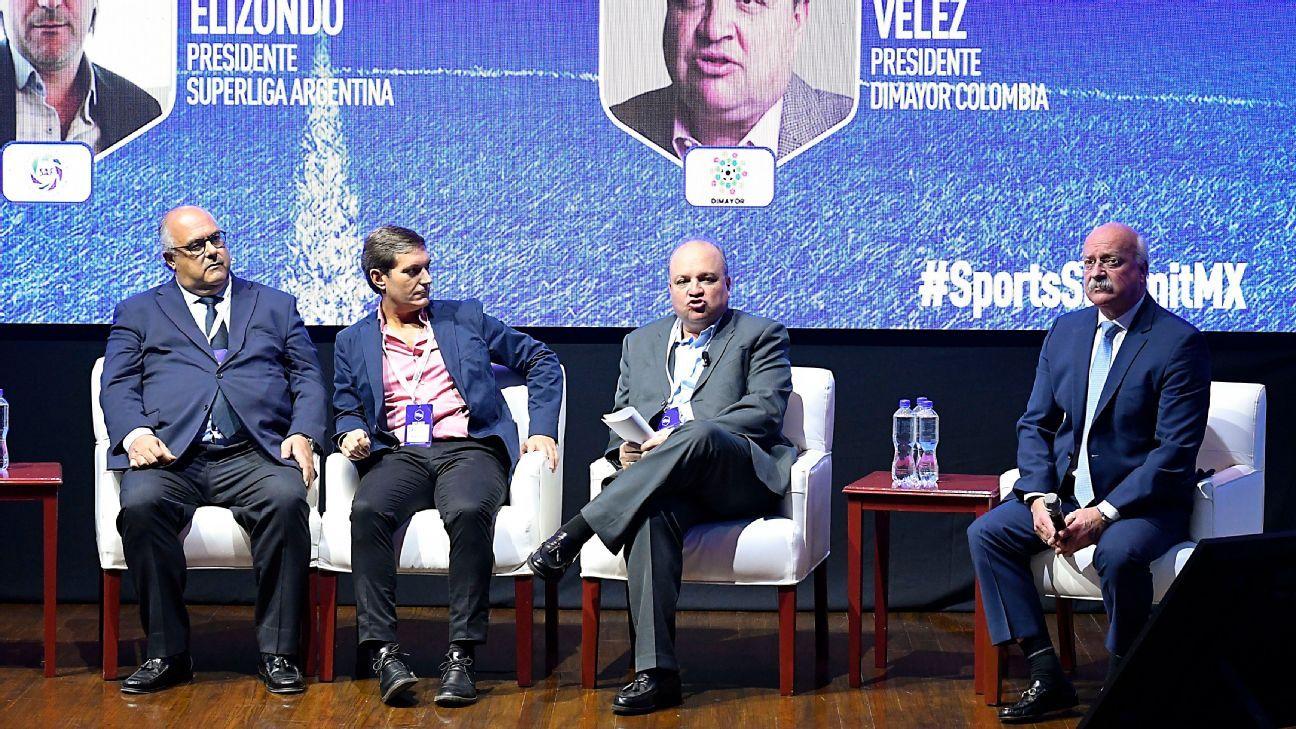 La Liga MX no es retroceso, asegura el presidente de la Superliga Argentina