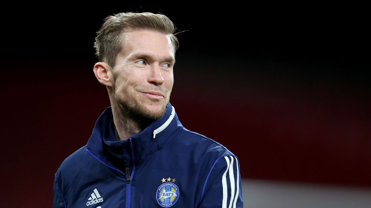 Alex Hleb always wanted to come back to Arsenal. Now he's back as BATE Borisov's talisman