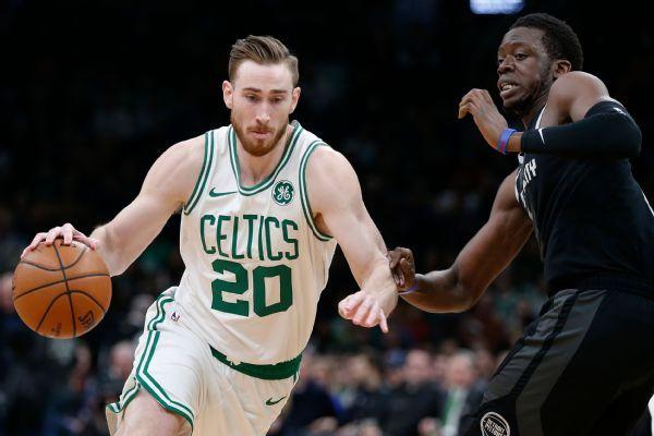 Celtics' Gordon Hayward twists ankle in workout, questionable vs. Bucks
