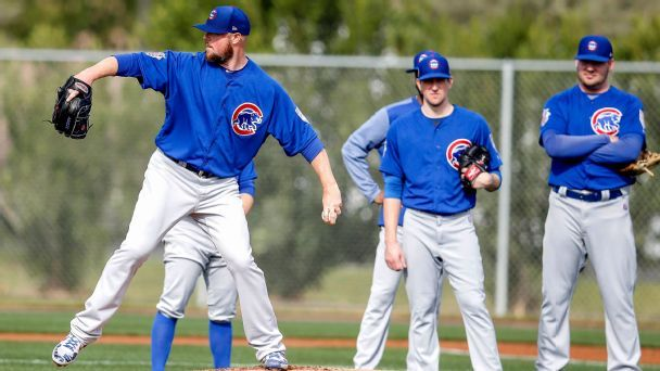 Last place? Cubs laugh off formula that has them finishing under .500