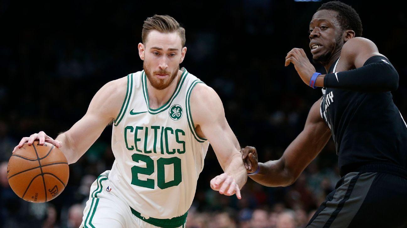 Gordon Hayward, de Celtics, se lesiona el tobillo derecho en práctica