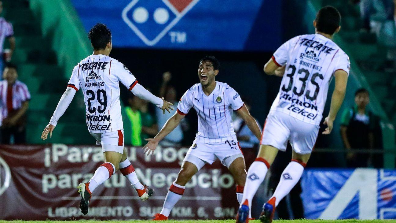 Chivas dejó puntos claves de Copa ante Cafetaleros