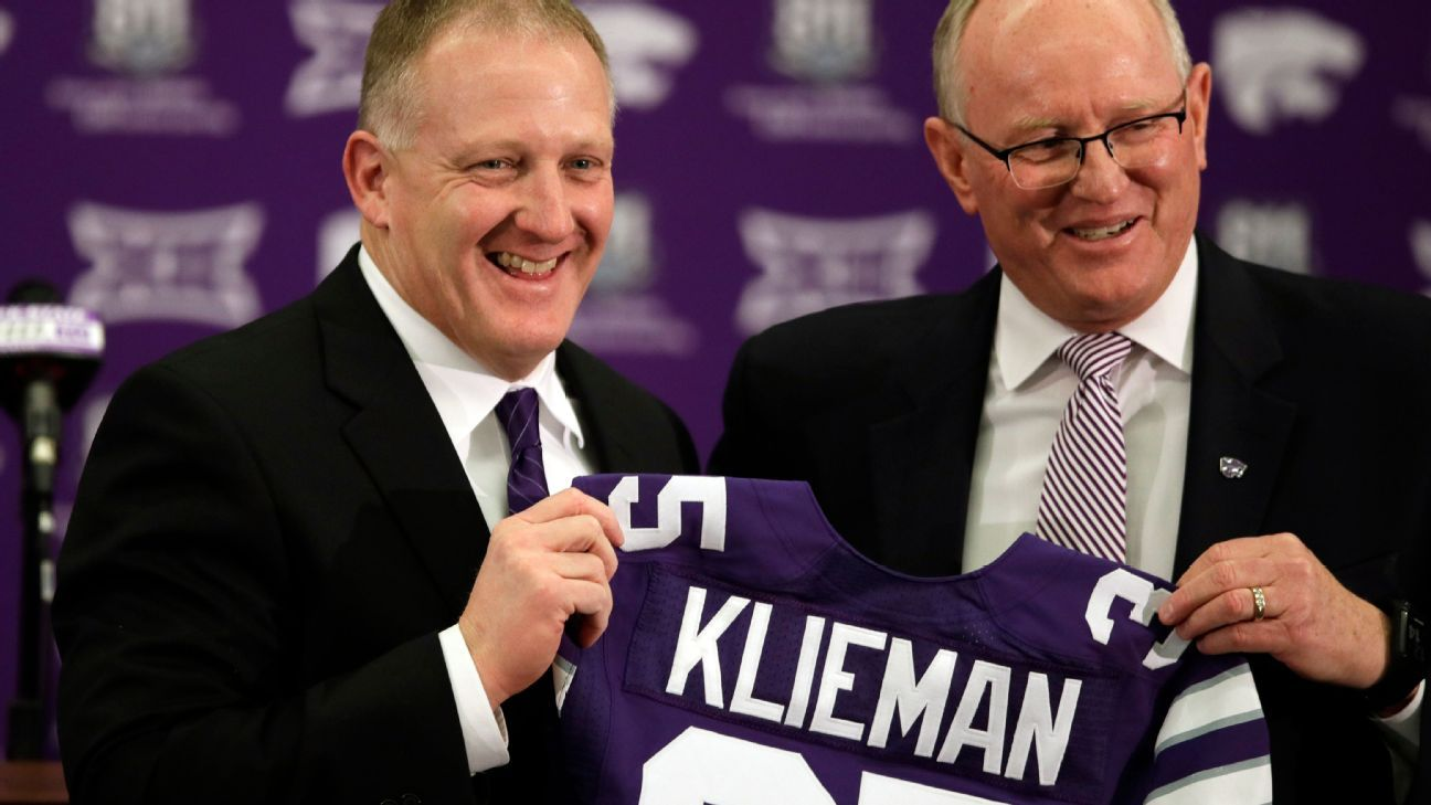 How Kansas State used Twitter to charm fans after hiring Chris Klieman