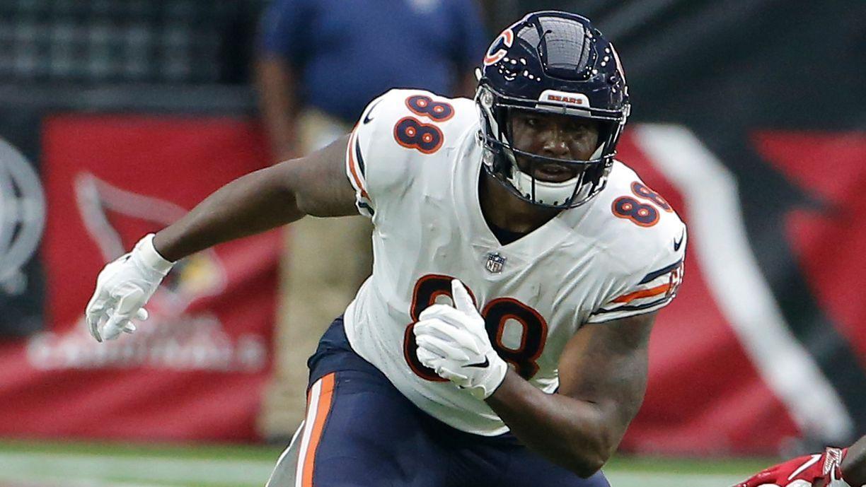 Los Chicago Bears se desprenden del ala cerrada Dion Sims