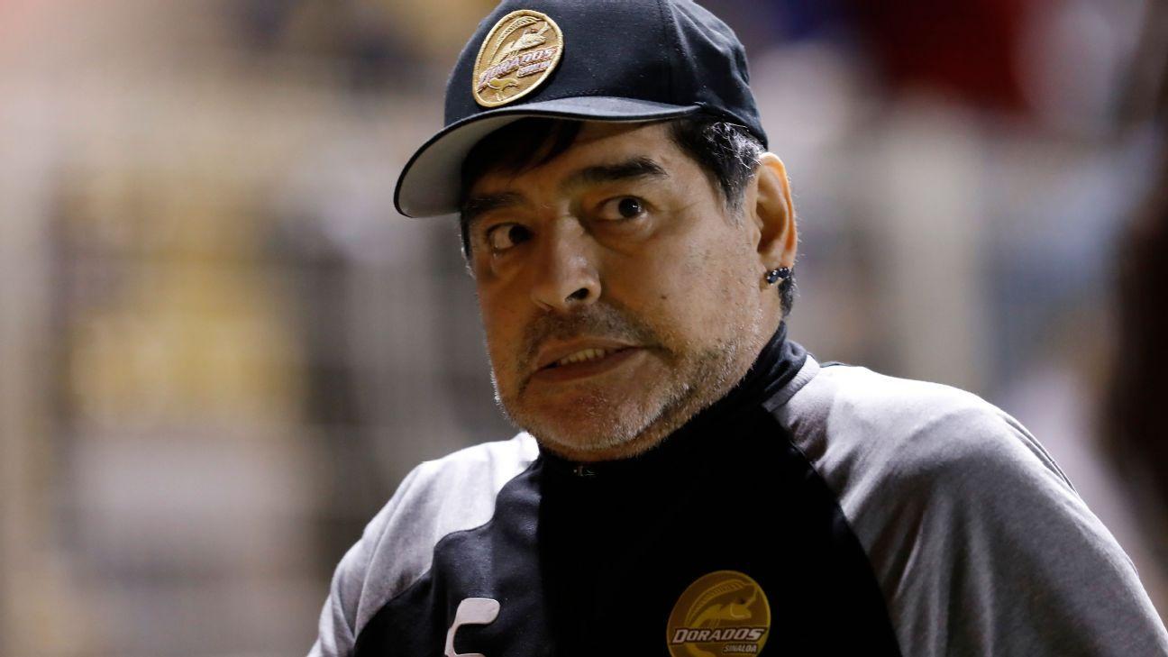 """Maradona: """"Tengo el mejor plantel, aun mejor que la selección de Argentina"""""""