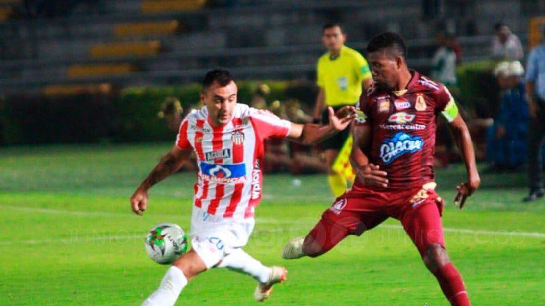 Junior derrotó a Tolima en Ibagué