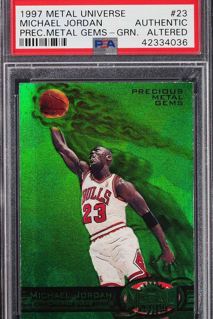 Reportan venta de tarjeta de Jordan en eBay por 350 mil dólares
