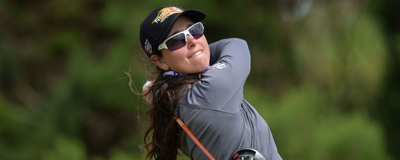 Spaniard Nuria Iturrios leads Ladies Golf Classic after Round 2