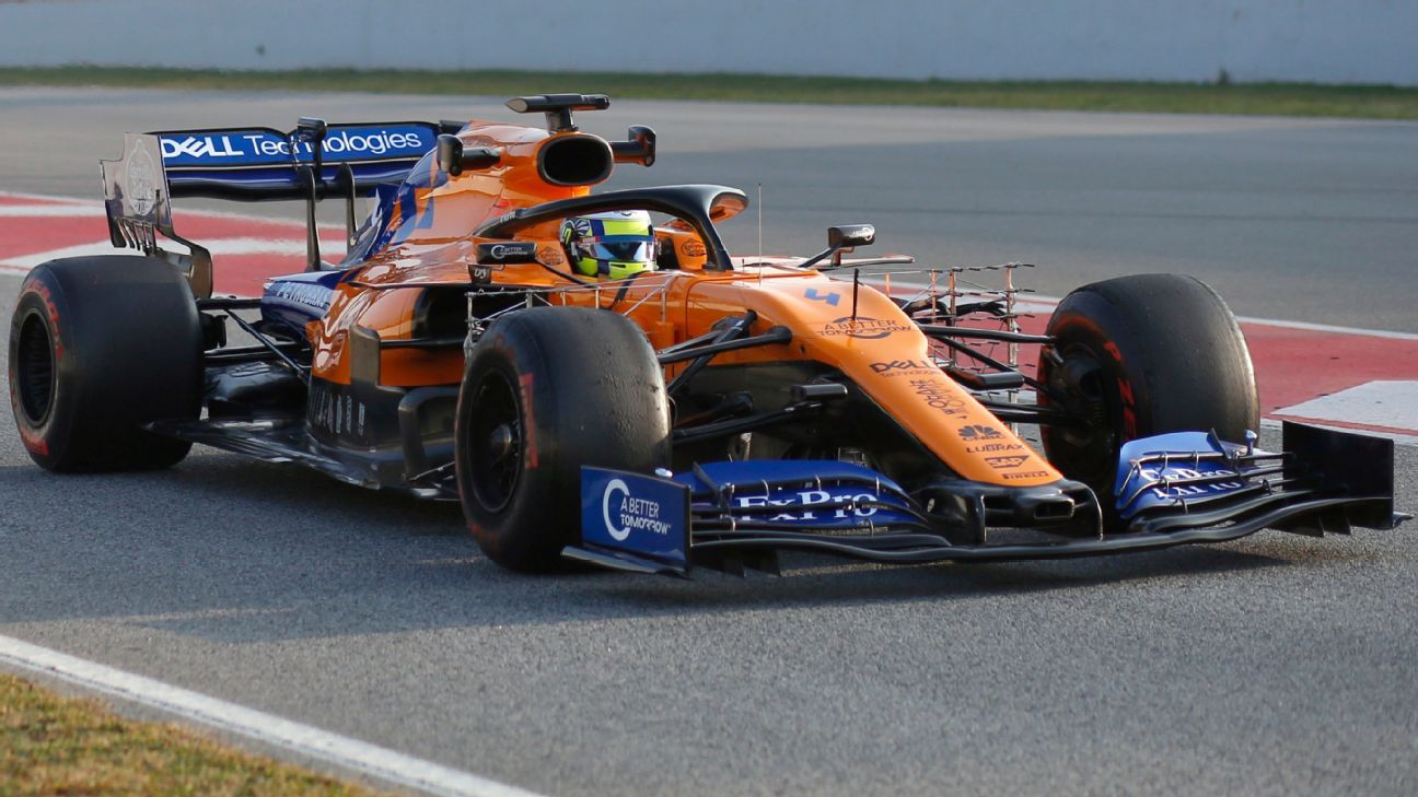 Reportan tres heridos por incendio en el box de McLaren en Montmeló