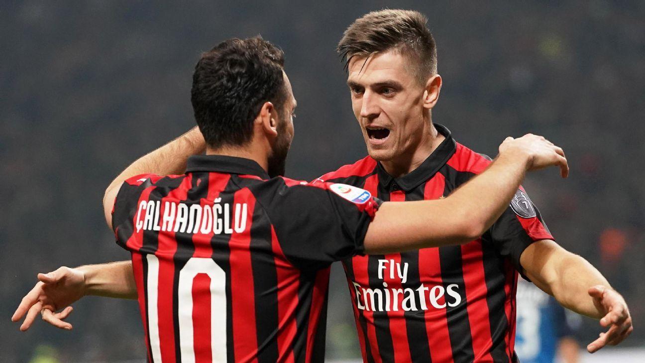 Milan sigue de racha y goleó a Empoli