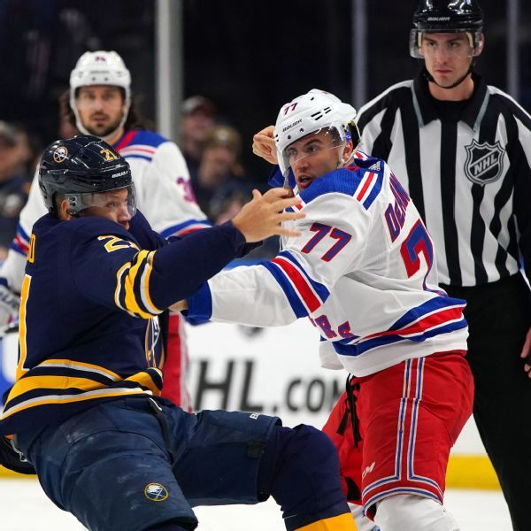 Buffalo Sabres' Kyle Okposo out indefinitely with concussion