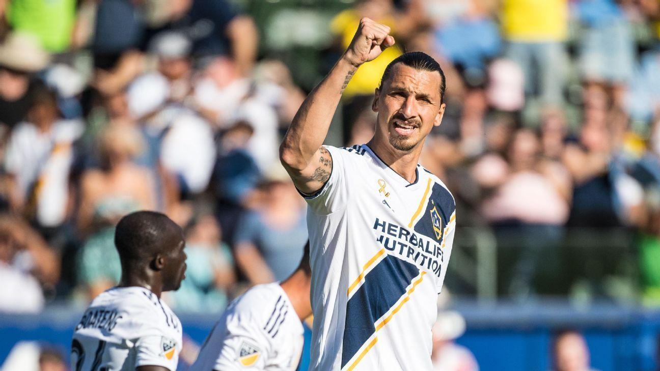 Zlatan reaparecería ante los Rapids el sábado