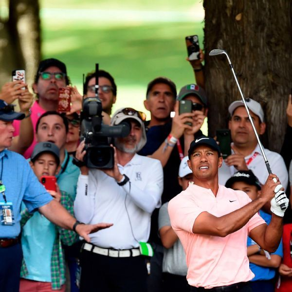 Tiger Woods surges up leaderboard at WGC-Mexico Championship