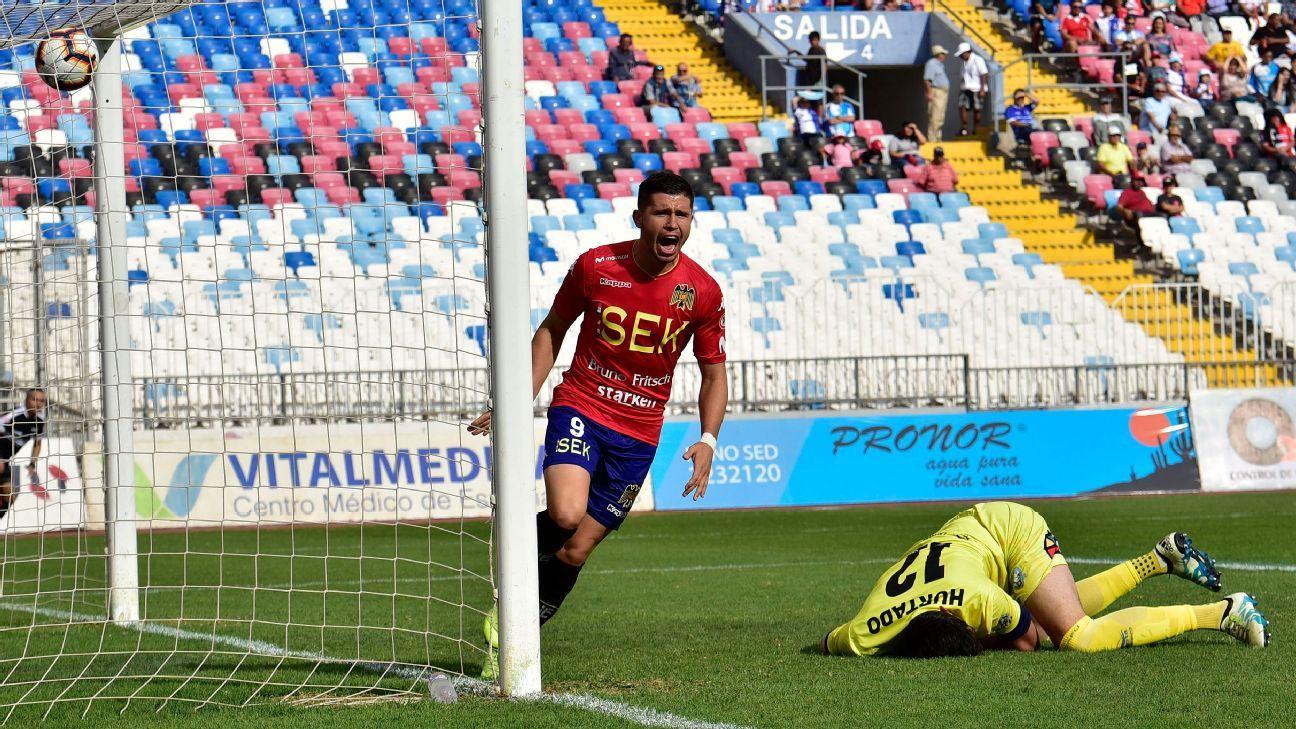 Unión Española superó 2-1 a Antofagasta