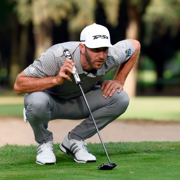 Dustin Johnson builds 2-shot lead in Mexico