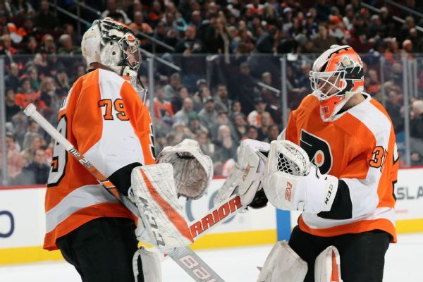 Brian Elliott to start outdoor game for Flyers instead of Carter Hart