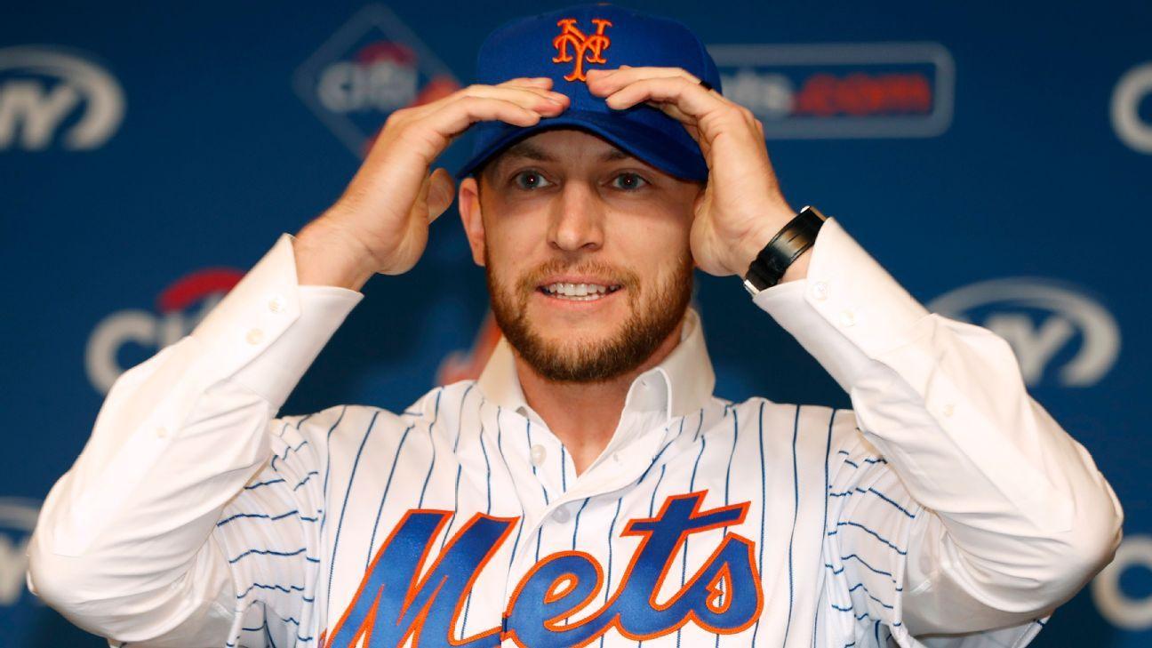 Mets: Jed Lowrie (rodilla), en duda para Día de Apertura