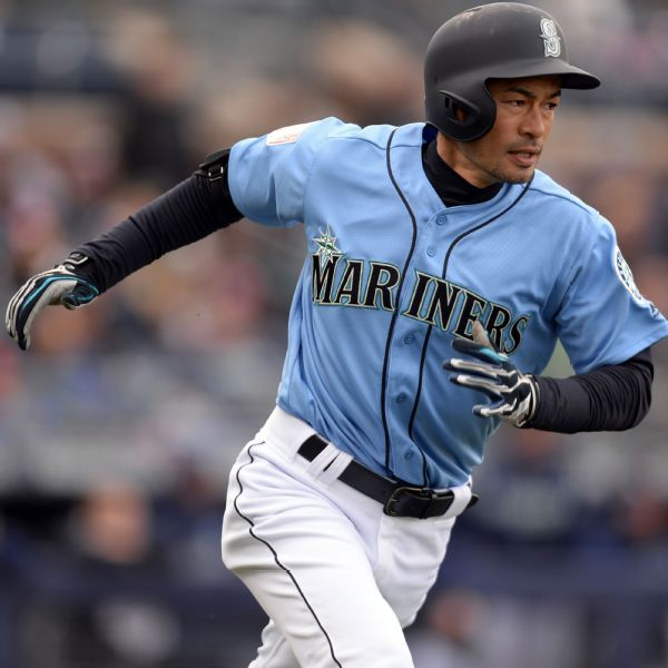 Ichiro Suzuki starts likely last spring opener with a hit for Mariners