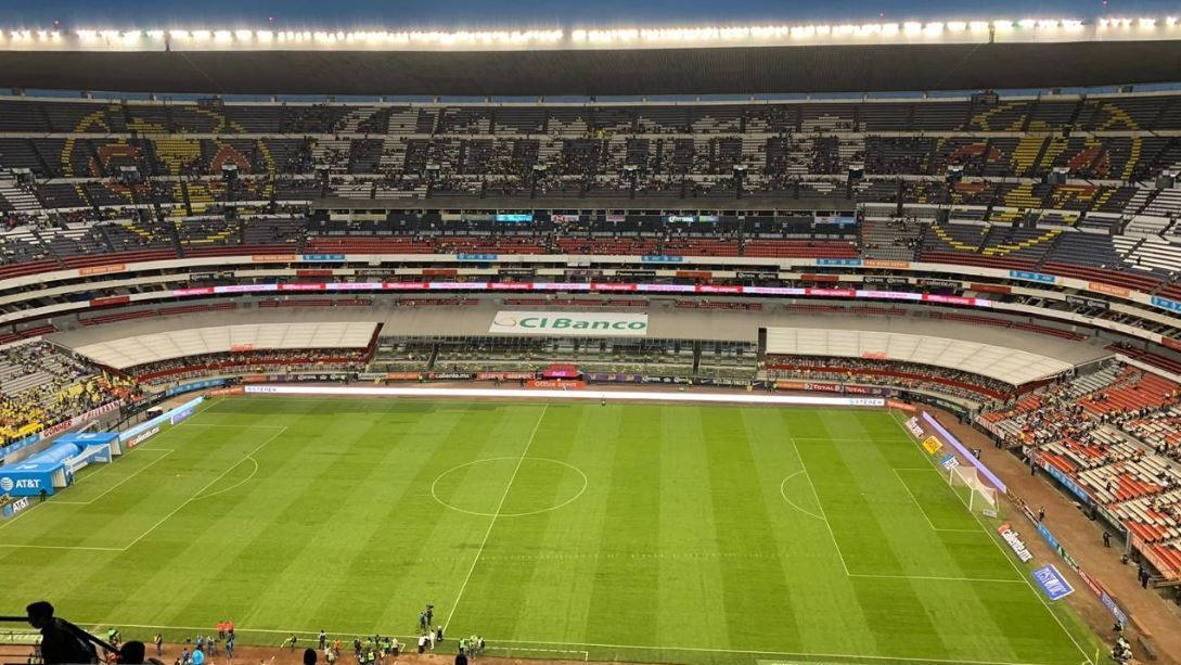 Estadio Azteca registra pobre entrada para el América-Lobos BUAP