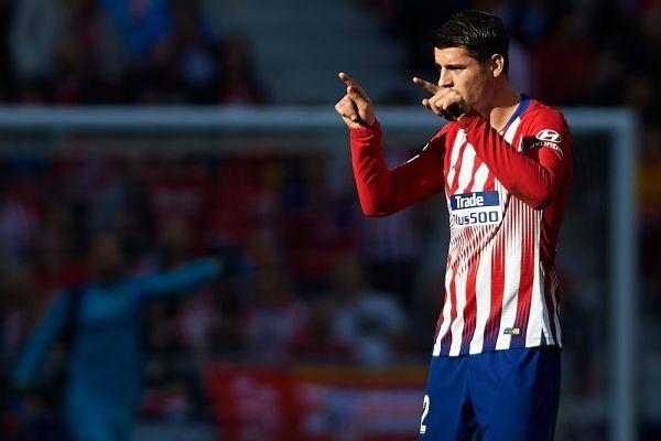 Alvaro Morata finally scores for Atletico Madrid in win over Villarreal