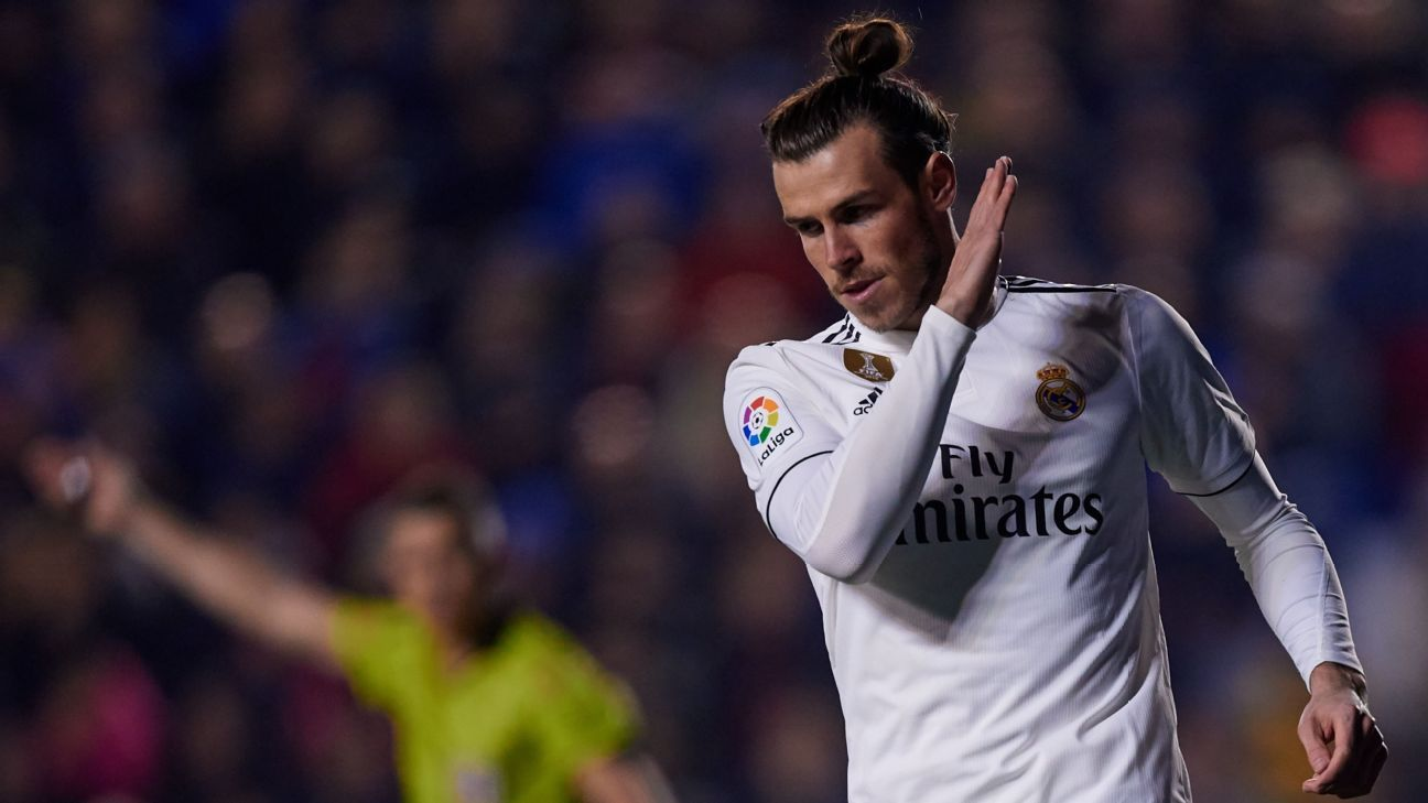 Gareth Bale penalty gives below-par Real Madrid win at Levante