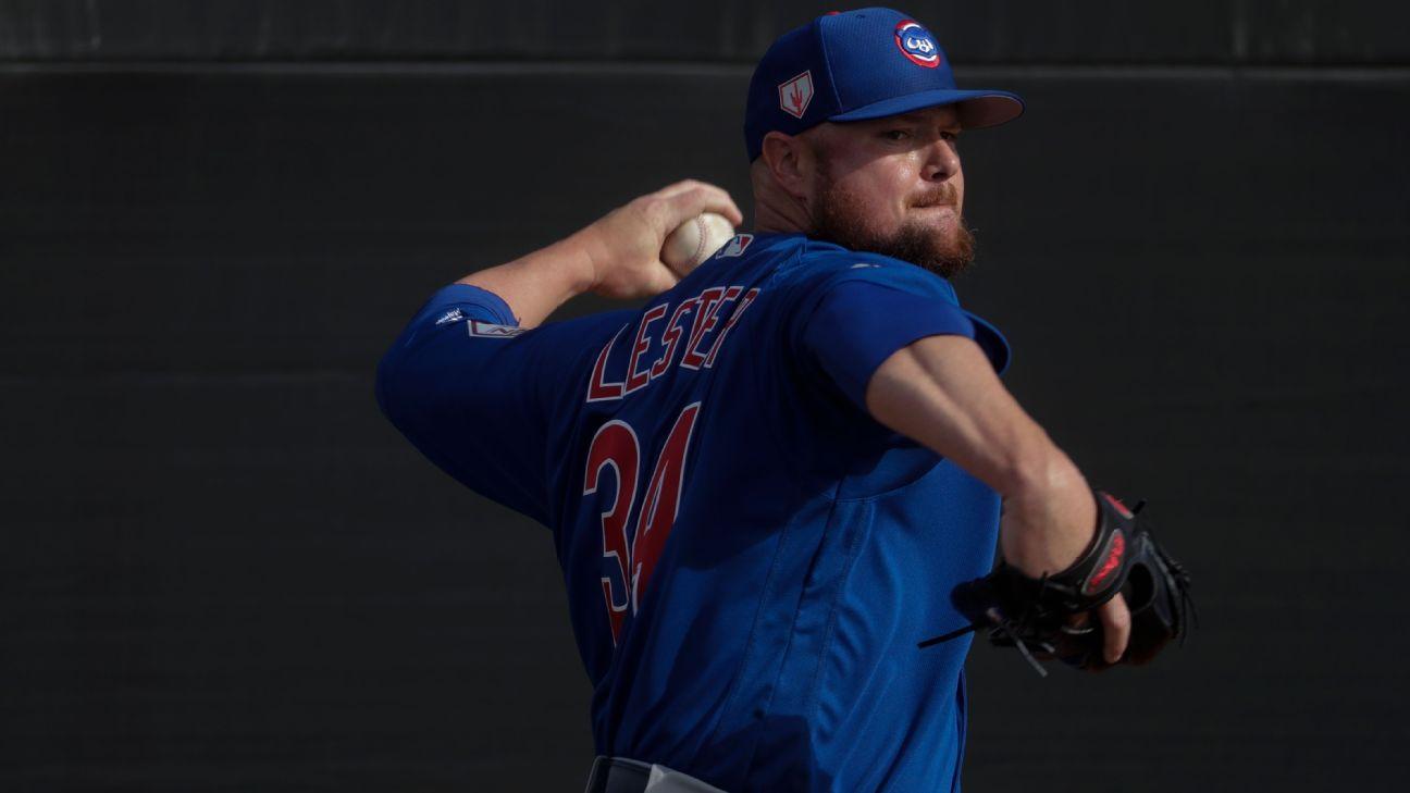 Cubs: Jon Lester, cerca de volver a la rotación